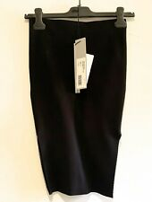 RICK OWENS SKIRT SS20 TEUATL OF THE RUNWAY EASY BLACK SIZE S