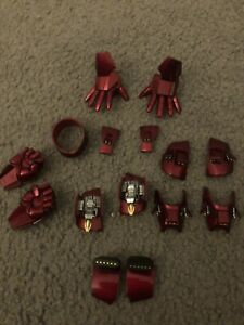 HOT TOYS Iron Man 2: Mark IV DIECAST Accessories for 1/6 Scale Armour