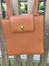 Original Damen Handtasche BULGARI / Bvlgari 24x24_braun Leder_Ladies´ bag