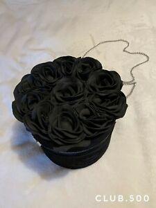 Elegant Rose Flower Bag & Handbag Evening Party, Dating