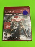 🔥 NEW SEALED PS3 - Playstation 3 Game Of The Year Greatest Hits - DEAD ISLAND🔥