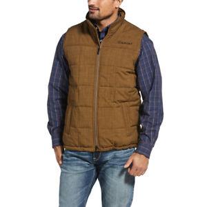 Ariat® Men's Crius Field Khaki Insulated Concealed Carry Vest 10030094