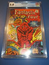 Fantastic Four #77 Silver age Silver Surfer CGC 5.0 VGF