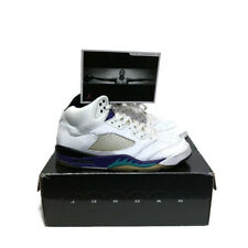 Nike Air Jordan 5 V Grape Emerald 2006 Size 9 314259-131 White Retro Metallic