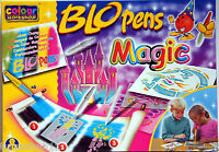 Pustestifte Blopens Magic Pens 11 Stifte 6 Schablonen