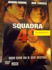 """DVD """" SQUADRA 49 """"  J. TRAVOLTA"""