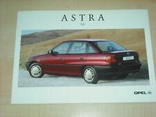 36315) Opel Astra GL Polen Prospekt 199?