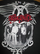 """2010 AEROSMITH """"COCKED, LOCKED ... READY TO ROCK!"""" Concert Tour (MED) T-Shirt"""