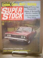 Jungle Jim Nova Funny Car Cobra Jet Test Feb 1969 Super Stock Drag Illustrated