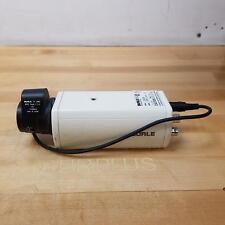 Burle Tc652Ea Security Camera With Tc9907A Tv Lens, 6mm, 1:1.4, 24Vac, 60Hz, 4W.