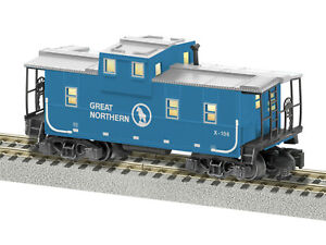 American Flyer 6-44110 Great Northern Extended Vision Caboose #X-106 NIB