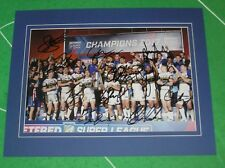 Leeds Rhinos 2017 Super League Grand Final Photo Mounted & Squad Signed x 11