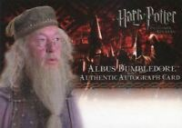 Harry Potter and the Prisoner of Azkaban Michael Gambon Unsigned Autograph Card