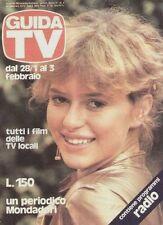 GUIDA TV 1979 N.4 DONATELLA BIANCHI VIDEOGIOCO TV SPORT EURONOVA TV PRIVATE