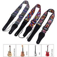 Guitar Strap Electric Guitar Acoustic Guitar Bass Wide Guitar Belt Adjustable 3C