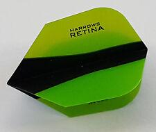 Harrows Retina X Green Standard Dart Flights