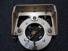 1 Piece Vintage Johnson Transmitter Ceramic Vacuum Tube Socket w/Mount Lot #25