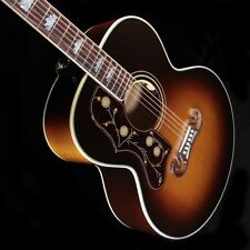 Lefty Gibson SJ-200 sunburst acoustic guitar Lefthanded LH