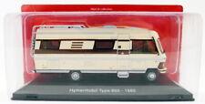 Hachette 1/43 Scale Model G1Y10002 - 1985 Mercedes Benz Hymermobil 650 Caravan