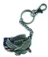 Schlüsselanhänger American Pride Keyring Keychain USA Amerika Adler Eagle