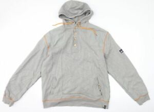 Rockport Mens Grey   Pullover Hoodie Size 2XL