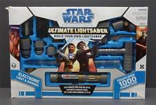 Star Wars The Clone Wars ULTIMATE LIGHTSABER SET Build Your Own LIGHTSABER 2008