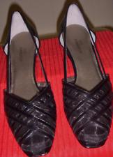 Ros Hommerson Savannah Black Leather Kid/ME H-32440M Women's Shoes Sz. 8 N