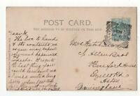 Ashton Under Lyne 6 Apr 1904 Squared Circle Postmark 126c