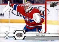 2019-20 Upper Deck #298 Carey Price Montreal Canadiens
