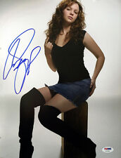 AMBER TAMBLYN SIGNED AUTOGRAPHED 11x14 PHOTO VERY PRETTY PSA/DNA
