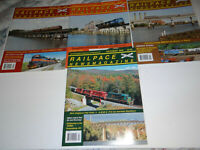 RailPace News Magazine Lot of 4 Issues 2006 Trains