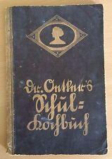 Dr. Oetkers Schulkochbuch, Ausgabe C, 1931