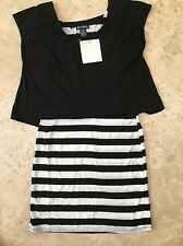 NEW Miss Chie Vous Women's Knit Dress - Size L