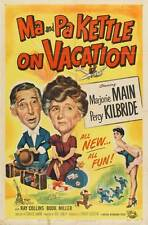 MA AND PA KETTLE AT THE FAIR Movie POSTER 27x40 B Marjorie Main Percy Kilbride