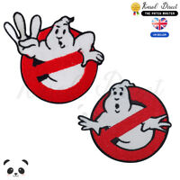 Ghost Buster Movie Band Embroidered Iron On /Sew On Patch Badge For Clothes etc