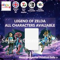 Legend of Zelda BOTW HW Custom NFC Amiibo Compatible Card Nintendo Switch