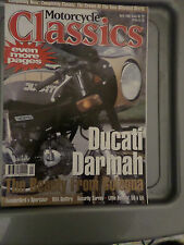 MOTORCYCLE CLASSICS APRIL1998 BSA HARLEY HONDA GARAGE SHED BARN FIND MOTOR BIKE
