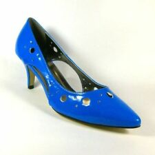 Kitten Heel 100% Leather Patternless Slingbacks for Women