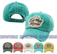 "Kbethos ""Hot Mess Mama"" KB-1267 New Vintage Distressed Baseball Trucker Cap Hat"