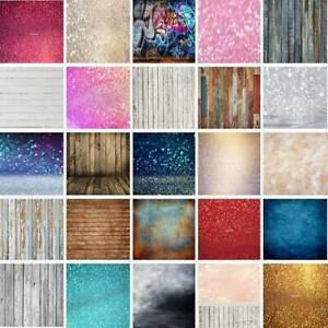 Dreamlike Glitter Tie-dye Photography Backdrop Wood Background Studio Photo Prop