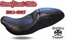 Harley Street Glide / Road Glide Seat Cover 2011-2017 BLACKBIRD CUSTOMS