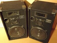 "Podium Pro 1000C Studio Speakers 10"" Three Way Pro Audio Monitor Pair [MA 667"