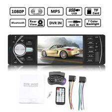 4.1'' Single 1 Din Car MP5 MP3 Player Stereo FM TF Radio Bluetooth Wheel Control