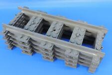 LEGO® Eisenbahn Schienen Gerade / 4 Stück