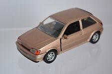 Ford fiesta, bronce/oro metalizado m 1:43 Schabak 1085 rareza coche modelo OVP