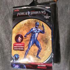 NEW IN BOX Power Ranger Blue Ranger Adult Costume Size XXL/EEG/TTG (50-52)