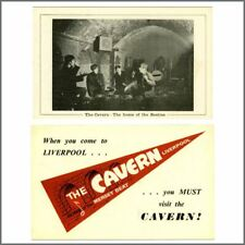The Beatles 1963 Cavern Club Liverpool Promotional Card (UK)