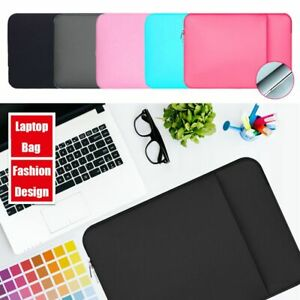 Laptop Sleeve Case Pouch Carrying Bag Notebook Cover For MacBook HP Dell Lenovo