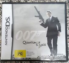 007 JAMES BOND QUANTUM OF SOLACE NINTENDO DS/DS LITE/DSi GAME brand new & sealed