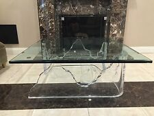 Vintage Lucite Iceberg Coffee Table